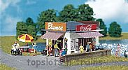 Faller 130212 OO/HO Scale Model Kit NEWSPAPER STAND - KIOSK FOR DRINKS AND SWEETS