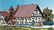 Faller 130221 OO/HO Scale Model Kit HALF-TIMBERED DETACHED ONE FAMILY HOUSE