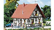Faller 130222 OO/HO Scale Model Kit DETACHED FAMILY HOUSE WITH TIMBER FRAME
