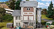 Faller 130228 OO/HO Scale Model Kit INDUSTRIAL MILL / FLOUR MILL - WITH ACCESSORIES