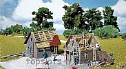 Faller 130246 OO/HO Scale Model Kit SMALL HOUSE UNDER CONSTRUCTION