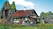 Faller 130277 OO/HO Scale Model Kit RURAL HALF-TIMBERED HOUSE / CHALET