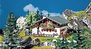 Faller 130287 OO/HO Scale Model Kit MOUNTAIN CHALET - WITH BALCONY