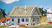 Faller 130303 OO/HO Scale Model Kit DETACHED HOUSE UNDER CONSTRUCTION