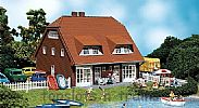 Faller 130310 OO/HO Scale Model Kit SMALL NORTH GERMAN 2-FAMILY HOUSE