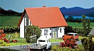 Faller 130316 OO/HO Scale Model Kit DETACHED HOUSE - GREY