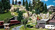 Faller 130323 OO/HO Scale Model Kit GOODS CABLEWAY - WITH MOTOR