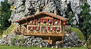 Faller 130329 OO/HO Scale Model Kit MOSER HUTTE ALPINE CHALET