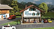 Faller 130330 OO/HO Scale Model Kit GENTIAN PHARMACY - ALPINE STYLE