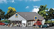 Faller 130339 OO/HO Scale Model Kit ALDI SUPERMARKET