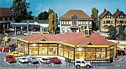 Faller 130342 OO/HO Scale Model Kit EDEKA LOCAL MINI MARKET