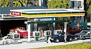 Faller 130346 OO/HO Scale Model Kit COVERED PETROL PUMPS