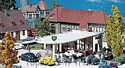 Faller 130347 OO/HO Scale Model Kit BP PETROL STATION