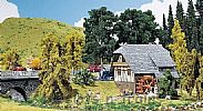 Faller 130387 OO/HO Scale Model Kit SMALL BLACK FOREST HOUSE