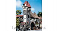 Faller 130402 OO/HO Scale Model Kit OLD TOWN TOWER HOUSE