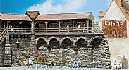 Faller 130404 OO/HO Scale Model Kit OLD TOWN WALL  - CITY LANDMARK