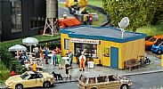 Faller 130434 OO/HO Scale Model Kit SNACK BAR - DONER KEBAB KIOSK