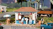 Faller 130462 OO/HO Scale Model Kit KIOSK - BAR / SAUSAGE / TOBACCO / CANDY STALL
