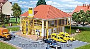Faller 130488 OO/HO Scale Model Kit ADAC BUILDING - GERMAN AUTOMOBILE CLUB