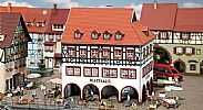 Faller 130491 OO/HO Scale Model Kit TOWN HALL / RATHAUS