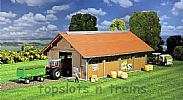 Faller 130522 OO/HO Scale Model Kit STABLES BUILDING - FOR HORSE OR CATTLE KEEPING
