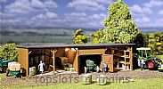 Faller 130523 OO/HO Scale Model Kit HAY BALE STORE / WAREHOUSE AND WORKSHOP
