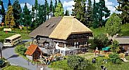 Faller 130534 OO/HO Scale Model Kit BLACK FOREST FARM - WITH THATCHED ROOF