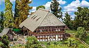 Faller 130576 OO/HO Scale Model Kit BLACK FOREST FARM - HALF TIMBERED CONSTRUCTION