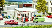 Faller 130590 OO/HO Scale Model Kit SMALL 1950s PETROL STATION