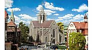 Faller 130598 OO/HO Scale Model Kit CATHEDRAL - MEDIEVAL CHURCH BUILDING