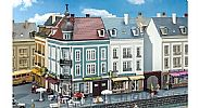 Faller 130703 OO/HO Scale Model Kit BEETHOVENSTRASSE TOWNHOUSES WITH SHOPS X 2