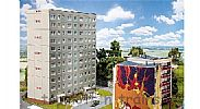 Faller 130801 OO/HO Scale Model Kit PREFAB HIGH RISE BUILDING - BASIC SET