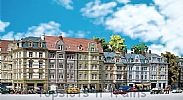 Faller 130915 OO/HO Scale Model Kit GOETHESTRASSE ROW OF TOWNHOUSES
