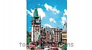 Faller 130922 OO/HO Scale Model Kit ST MARTINS GATE CITY CLOCK TOWER