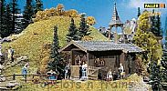 Faller 131302 OO/HO Scale Model Kit HOBBY SERIES - MOUNTAIN CHAPEL