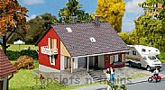 Faller 131355 OO/HO Scale Model Kit HOBBY SERIES - HOUSE WITH TERRACE