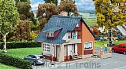 Faller 131359 OO/HO Scale Model Kit HOBBY SERIES - HOUSE WITH BALCONY