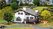 Faller 131371 OO/HO Scale Model Kit HOBBY SERIES - MOUNTAIN CHALET