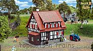 Faller 131374 OO/HO Scale Model Kit HOBBY SERIES - HALF-TIMBERED HOUSE