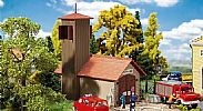 Faller 131383 OO/HO Scale Model Kit FIRE STATION VEHICLE HOUSE