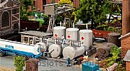 Faller 131387 OO/HO Scale Model Kit HOBBY SERIES – OIL FACILITY