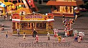Faller 140353 OO/HO Scale Fairground Model Kit 2 X FAIRGROUND BOOTHS V - CANDY AND BALLOONS