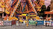 Faller 140358 OO/HO Scale Fairground Model FAIRGROUND BARRIERS AND SIGNS V