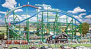 Faller 140410 OO/HO Scale Fairground Model Kit ALPINA-BAHN ROLLERCOASTER VI - WITH MOTOR