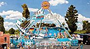 Faller 140420 OO/HO Scale Fairground Model Kit FUN-SHIP / SWING BOAT RIDE V - WITH MOTOR