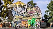 Faller 140423 OO/HO Scale Fairground Model Kit MOUSE TOWN FUN HOUSE IV