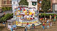 Faller 140424 OO/HO Scale Fairground Model Kit CRAZY CLOWN ROUNDABOUT RIDE V - WITH MOTOR