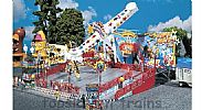 Faller 140428 OO/HO Scale Fairground Model Kit ATTRACTION - SALTO MORTALE - WITH DRIVE MOTORS