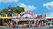 Faller 140445 OO/HO Scale Fairground Model Kit FAIRGROUND BOOTH - SEA FISH