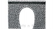 Faller 170880 OO/HO Scale Decorative Panel NATURAL STONE TUNNEL PORTAL - SINGLE TRACK